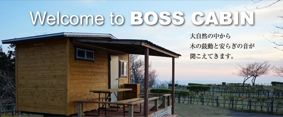 Welcome to BOSS CABIN